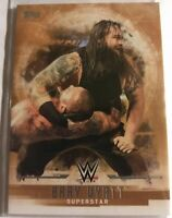 WWE Bray Wyatt #6 2017 Topps Undisputed Bronze Parallel Card SN 61 of 99