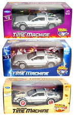 Toy Cars Back to The Future DeLorean 1/24 Scale Die Cast Metal with Plastic Part