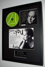 Adele 21- 'Someone Like You' Original CD-Ltd Edt-Plaque-Certificate-Amazing!!