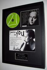 Adele 21- 'Someone Like You' Original CD-Ltd Edt-Plaque-Certificate-Amazing!!