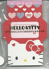 Sanrio Hello Kitty Notepad Fold Notes
