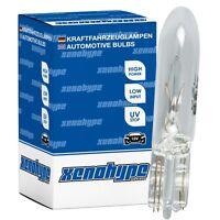 10x XENOHYPE Premium Glassockellampe T5 W2x4.6d 12V 1,2 Watt W1,2W