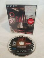 Saw (Sony PlayStation 3 PS3, 2009) Game & Case - Survival Horror Jigsaw