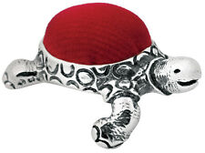 TORTOISE PIN CUSHION STERLING SILVER 925 HALLMARKED NEW FROM ARI D NORMAN