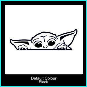 Baby Yoda Decal,Vinyl, Sticker,Car, Mandalorian,Cute,Window,Graphics, N2208