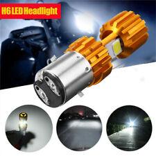 H6 BA20D DC12V LED COB Motorcycle Bike Hi/Lo Headlight Lamp Bulb 6000K 2000LM
