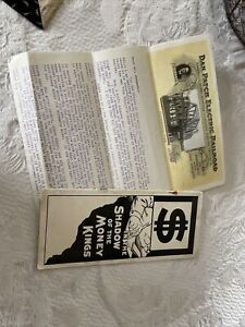 Antique Brochure In The Shadow Of The Money Kings Dan Patch Electric Railroad