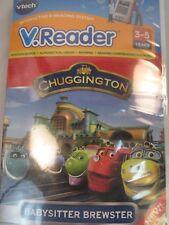 New Vtech V Reader Chuggington Animated E Book Reader Software 3-5 Years  (X026)
