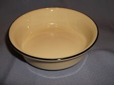 "Vintage Lenox Special Fruit/Dessert Bowl~Black Band Top Edge 5 1/4""Dia X 1 5/8""H"
