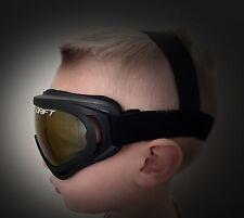 Drift Youth Goggles UTV RZR Glasses Eye Wear Kids Childrens Dust MIRRORED LENS