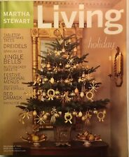MARTHA STEWART LIVING~VINTAGE & COLLECTIBLE~DECEMBER 2001~#97~FREE SHIPPING