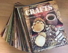 1st Edition Weekly Craft Magazines