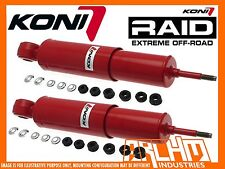 LAND ROVER DEFENDER 130 SERIES KONI ADJ HEAVY TRACK REAR SHOCKS ABSORBERS