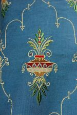 "Antique Old French 19thC Silk&Wool Tapestry Fabric c1850~1yd29""Lx19""W~Pillow ,Bag"