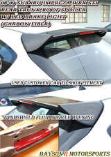 JDM Style Rear Roof Spoiler Wing (Carbon) Fits 08-14 Subaru Impreza WRX STI 5dr
