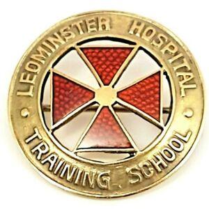 VINTAGE 10K GOLD NURSING PIN LEOMINSTER HOSPITAL TRAINING SCHOOL 1934 MA
