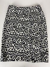 Ann Taylor Skirt Size 2, Blk/wht  Animal Print , 14, Waist, Hip, 17, L, 22