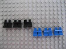 Sei bambini LEGO breve mini inferiore Parti del Corpo/Gambe/Pantaloni Nuovo di Zecca