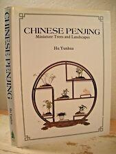 CHINESE PENJING Yunhua 1987 HC/DJ VG MINIATURE TREES & LANDSCAPES Bonsai Garden