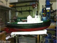 TUG BOAT 1 20th Scale FRAMEKIT Build Modelling MODEL PLANS