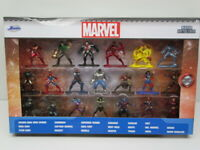 Jada Marvel 20-Piece Set  Nano Metalfigs Diecast 20 Pack Figure Collector Set