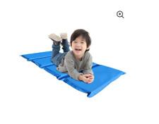 "Peerless Plastics Blue/Teal Kinder Mat, 2"" x 19"" x 44"" Nap Time Flexible Seating"