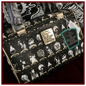 NWT LOUNGEFLY DISNEY NIGHTMARE BEFORE CHRISTMAS TAROT CARD Crossbody Bag Purse