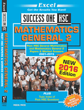 EXCEL SUCCESS ONE - HSC MATHEMATICS GENERAL 2 2016 EDITION