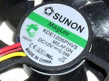 "NEW MINI SUNON MAGLEV KDE1205PHV3 10.2 CFM 2"" 50MM 12V DC COOLING FAN BLOWER USA"