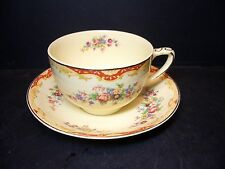 BEAUTIFUL JOHNSON BROS REDCLIFFE CUP & SAUCER SET [8] - BROTHERS