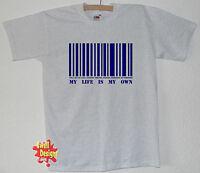 LE PRISONNIER code à barres, retro, portmeirion T shirt Toutes Les Tailles