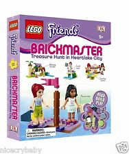 LEGO Friends Brickmaster by DK Treasure Hunt in Heartlake City Read Build Play!