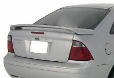 FORD FOCUS FACTORY STYLE UNPAINTED REAR WING SPOILER 2005- 2007
