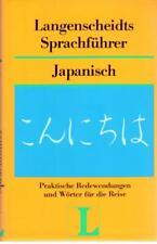 Langenscheidts Sprachführer Japanisch