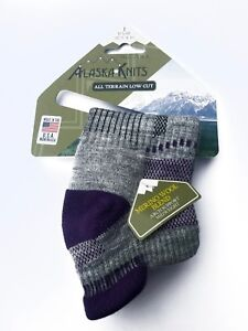 ALASKA KNITS™ MERINO WOOL LADIES' ALL TERRAIN LOW CUT SOCKS  1-pack  MADE IN USA