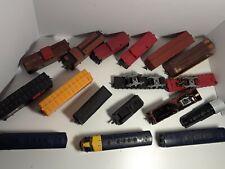 Vintage Miniature Locomotives Trains Parts Lot HO Scale