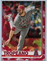 2019 Topps Series 2 Baseball Independence Day Parallel Nick Tropeano 29/76 SP