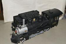 G scale Bachmann Western Maryland Ry steam locomotive 4-6-0