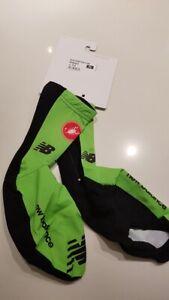 Pro cycling jersey 2017 Team CANNONDALE DRAPAC aero shoe covers XL CASTELLI new