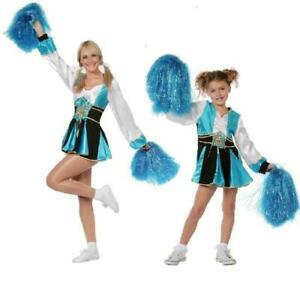 Cheerleader Kleid Kostüm Uniform Trikot Girl Cheerleaderin Kinder Mädchen Dame