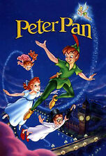 "Peter Pan Disney Movie Poster Photo Fridge Magnet 2""x3"" Collectible"