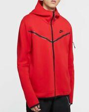 Nike Sportswear Tech Fleece Zip Up Hoodie Sweater Jacket Size Medium CU4489 657