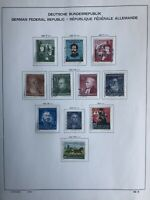 German Deutsche Bundespost Stamps - 11 Used Stamps On Page