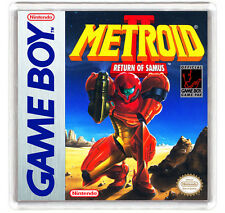 METROID 2 RETURN OF SAMUS NINTENDO GAME BOY FRIDGE MAGNET IMAN NEVERA