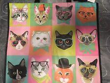 TJ MAXX Cat Shopping Tote NWT