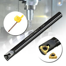 Internal Lathe Threading Boring Turning Tool Holder w/ Blade for CNC Machine