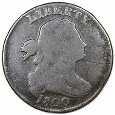 1800 Draped Bust Large Cent, S-211, R.3, LDS, G-VG