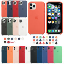Original Silicone Case For Apple iPhone11 Pro Max X XS 7 8 P Genuine OEM Cover