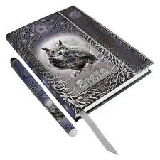 OWL Book of Shadows, Journal with Matching Pen!