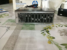 Equalizzatore Pioneer CD-9 vintage NUOVO 100% completo
